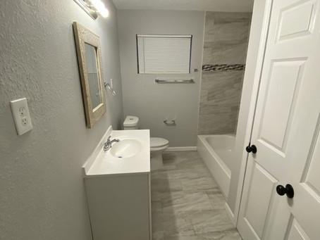 Turnkey Properties - Bathroom Remodels