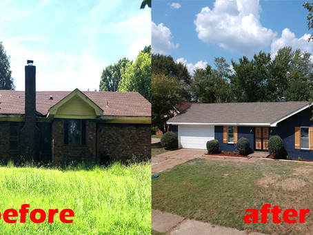 Memphis Turnkey Project: Before and After