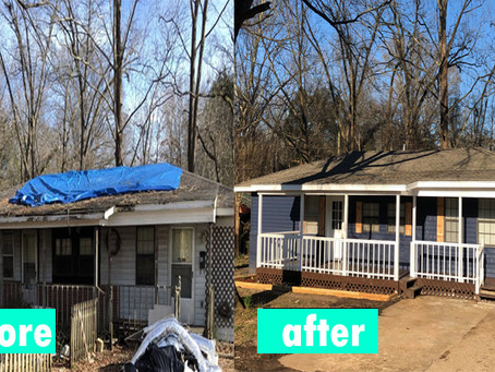 Memphis Turnkey with Before and After Photos