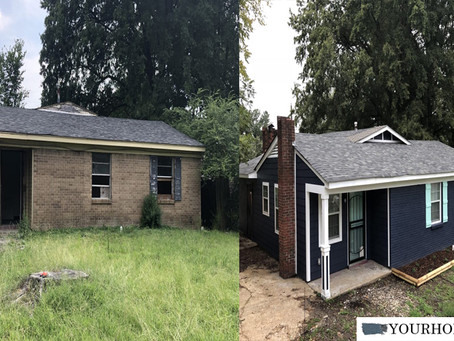 Turnkey House Transformation: Before + After