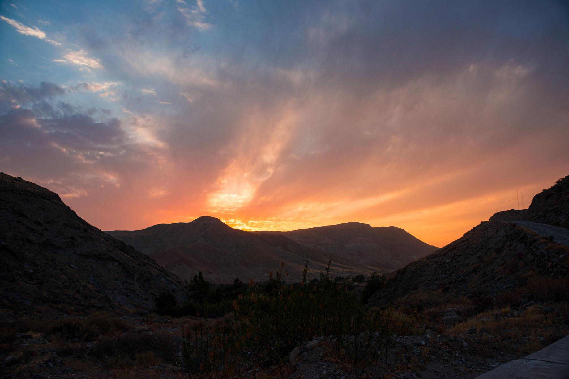 panoramica del higueral desde el megalit