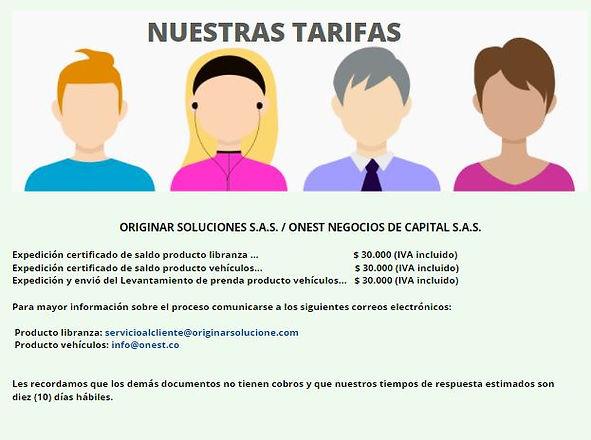 TARIFAS ONEST ORIGINAR.JPG