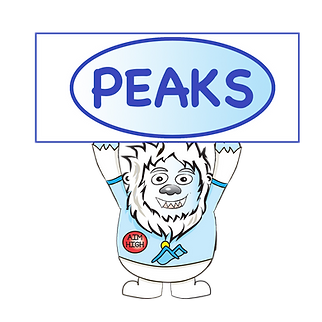 Migou Holding PEAKS sign.png