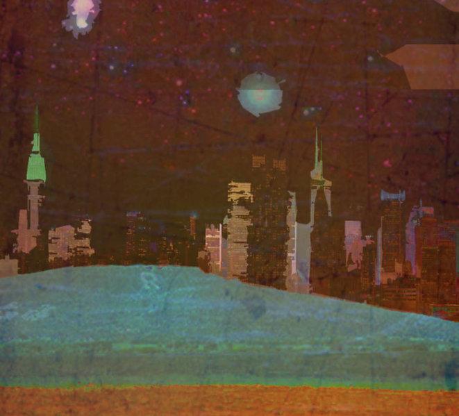 Cityscape graphic