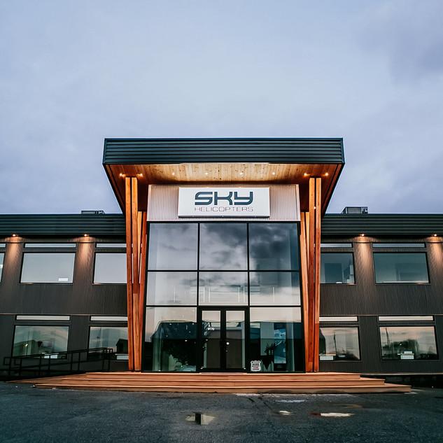 Exterior Design - Sky Hangar