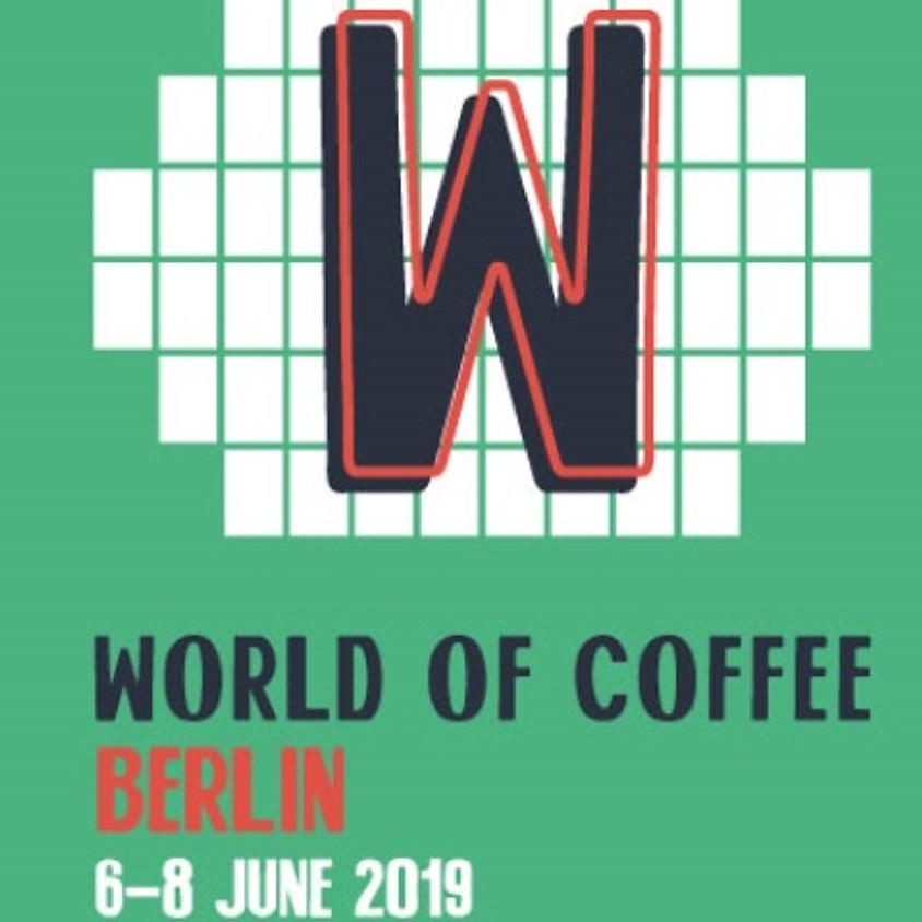 WORLD  OF COFFEE BERLINO 2019