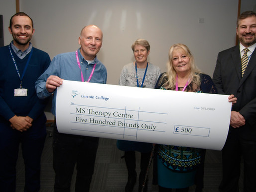 LINCOLN COLLEGE - PINK RIBBON - Donation