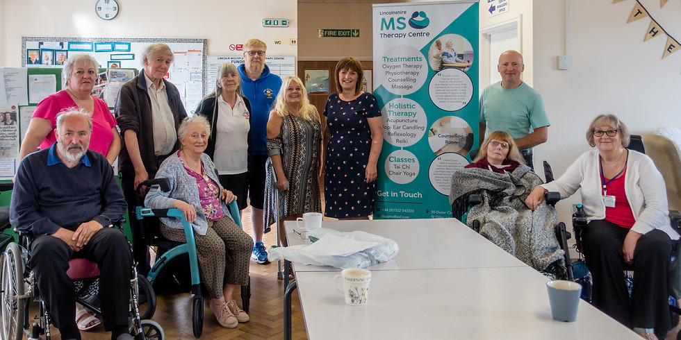 MS Nurse and Lincoln MP Visit