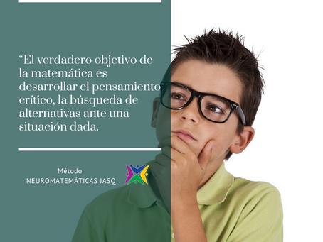 LA MATEMÁTICA ES LA MATERIA MÁS FÁCIL DE APRENDER