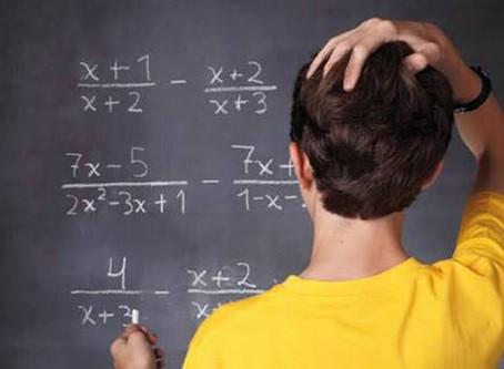 Conozca los cuatro factores básicos para superar la ansiedad y el miedo a las Matemáticas