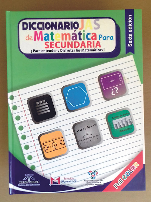 Diccionario JAS de Matemáticas para Secundaria