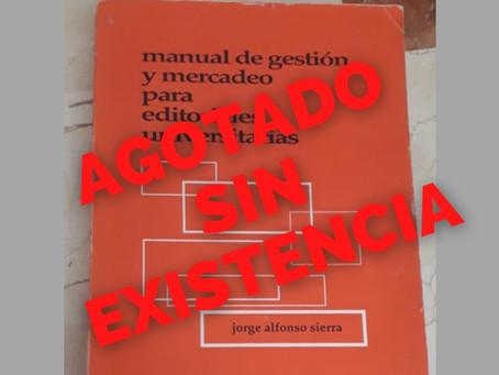 Manual de gestión y mercadeo para editoriales universitarias