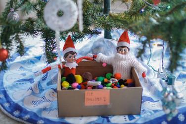 December 4: Elf Ball Pit