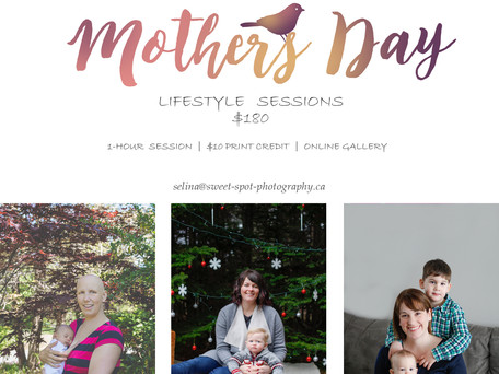Mother's Day Sessions | April 2017