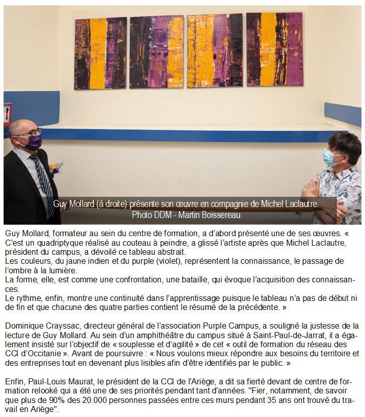 IFCAP - Oeuvre de Guy Mollard