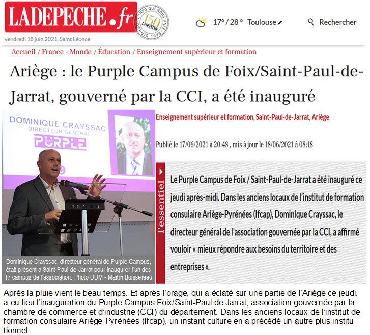 IFCAP Saint Paul de Jarrat