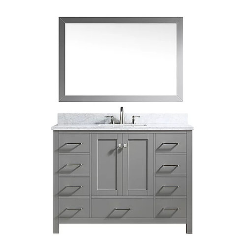 "Bathroom Vanity Set GRD10 - 48"" with Counter Top and Sink"