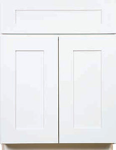 GRD White Shaker Kitchen Cabinets