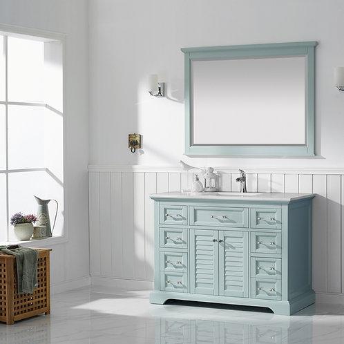 "Bathroom Vanity Set GRD7830 - Lorma 48"" Vanity with Counter Top and Sink"
