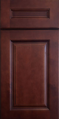 GRD Kitchen Cabinets Dark Cherry