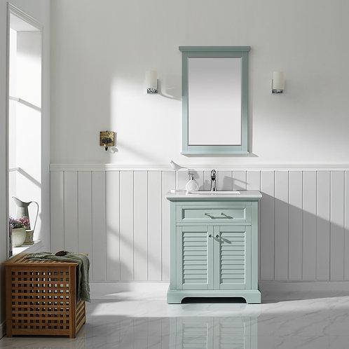 "Bathroom Vanity Set GRD7830 - Lorma 30"" Vanity with Counter Top and Sink"