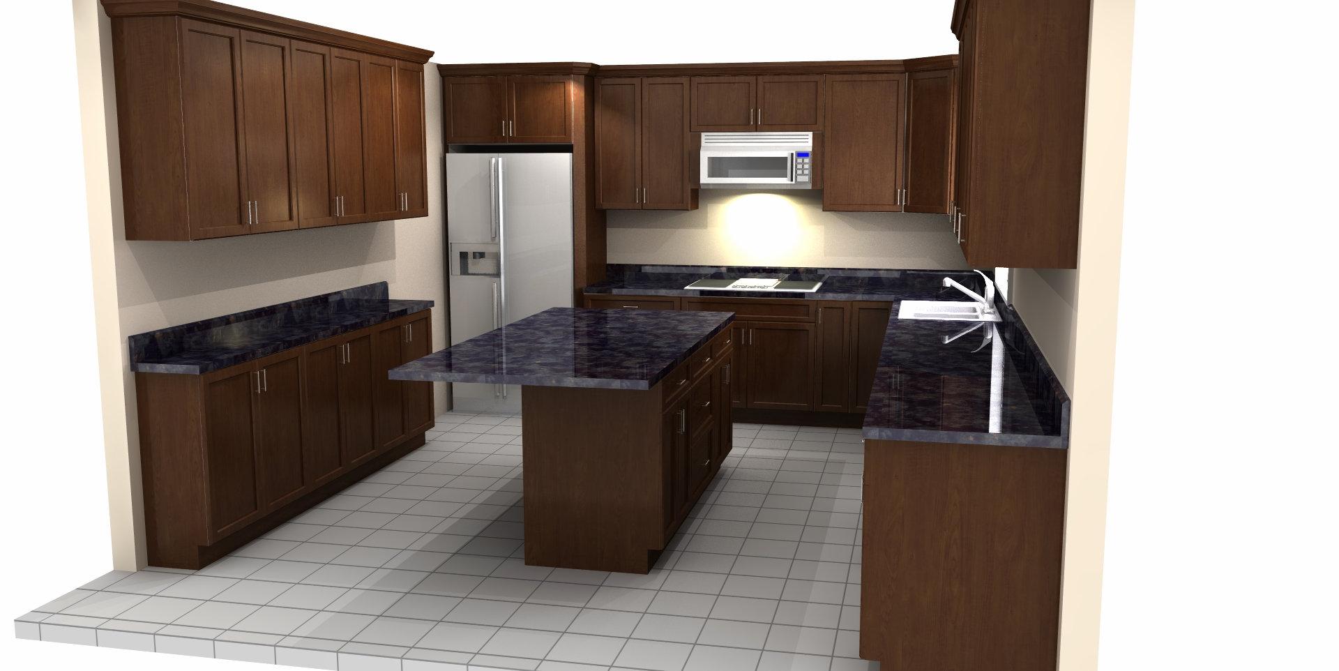 In-store Kitchen Designing Service