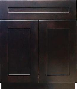 GRD Espresso Shaker Kitchen Cabinet