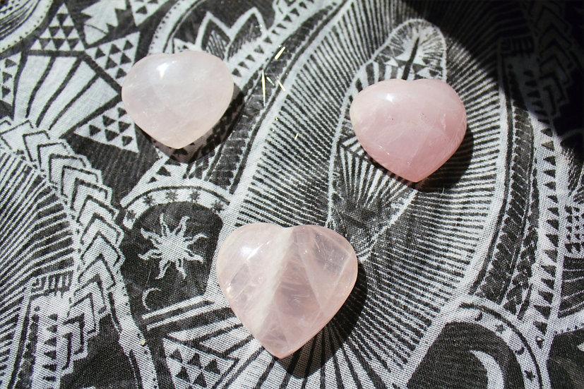 Rose Heart Quartz
