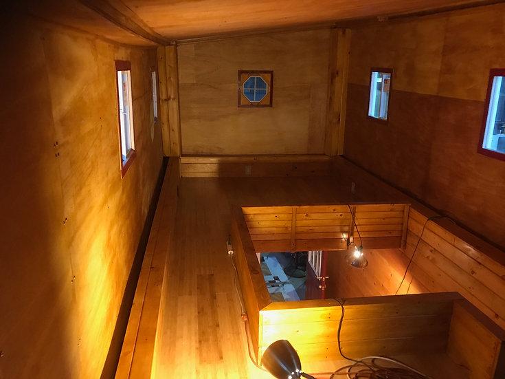 Second Floor - Walkway and Second Bedroom