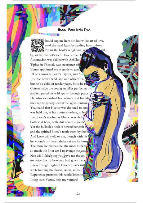 Role: Illustrator for Black out poetry novel.