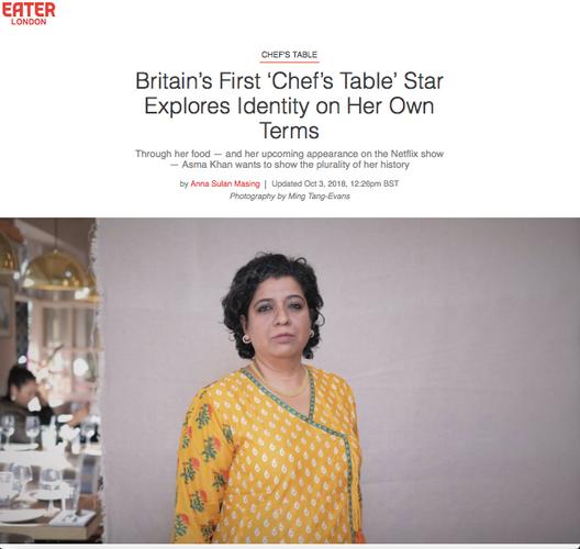 Chef profile: Asma Khan