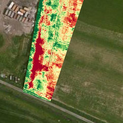 NDVI overlay on Google Map