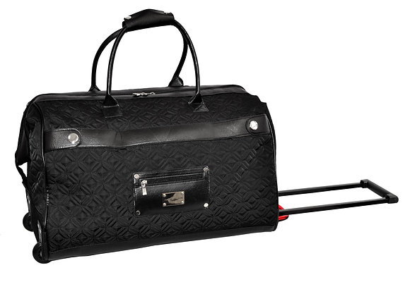 """22"""" Quilted Rolling Duffle"""