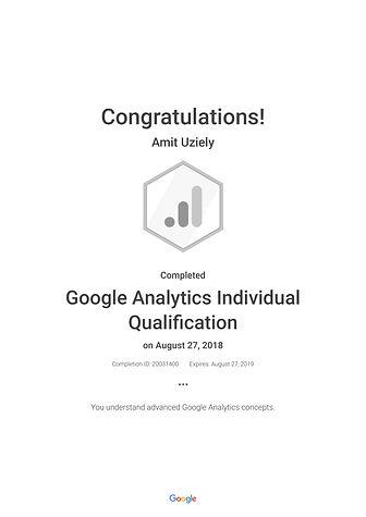 Google Analytics Individual Qualificatio