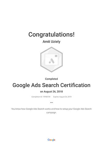 Google Ads Search Certification_ Google-
