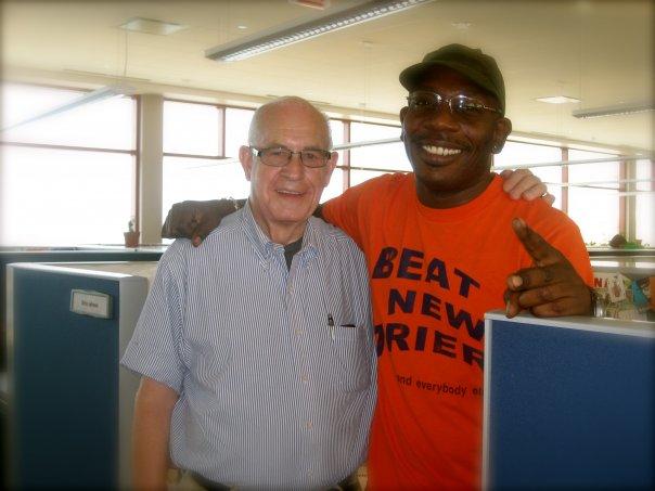 Brian Babylon with his Radio Mentor BIG CARL KASELL!!!