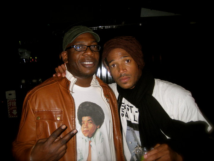 Great night _ The Comedy Store Crack em UP THURSDSAY Marlon Wayans was working out!