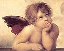 Raphael. Sistine Madonna (detail). 1512. Oil on Canvas. Gemäldegalerie Alte Meister, Dresden