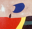 Joan Miro. The smile of a tear (detail).