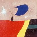 Joan Miro. 1973. The smile of a tear. Acrylic on canvas. Fundacio Joan Miro, Barcelona