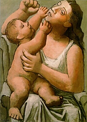 Pablo Picasso. Mother and Child. 1921-22