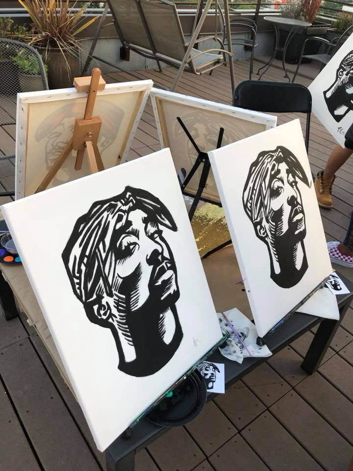 In person Celebrity Paint Party