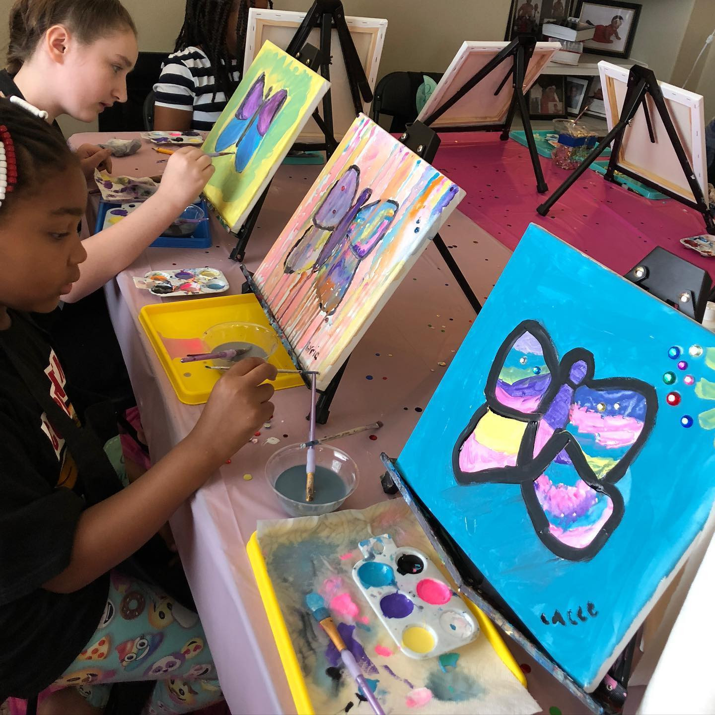 Kids/ Teenager Paint Party