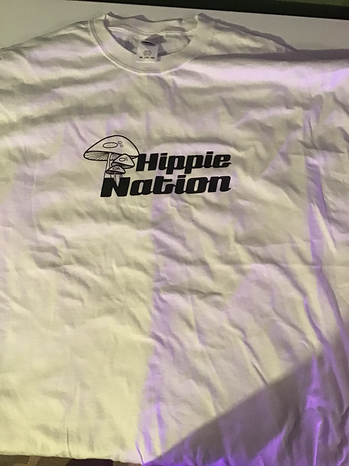 Hippie Nation White T