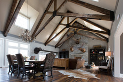 Saw Trace Oak Flooring & Beams