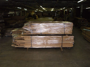 Packages are wrapped with a plasic cover