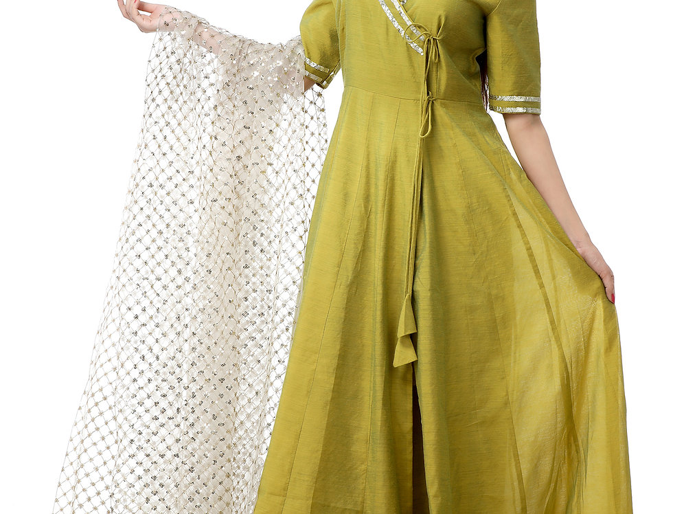 OFF WHITE SEQUENCE DUPATTA