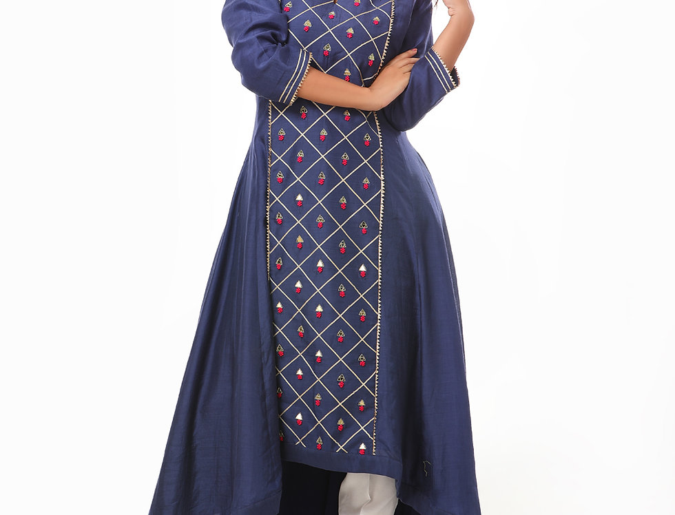 LAALITY ASYMMETRIC ANARKALI TOP