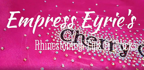 Rhinestoning Tips & Tricks - How To Video by Empress Eyrie