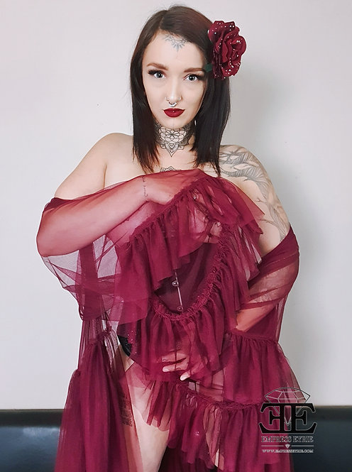 Empress Eyrie - Burlesque Nude Self Portrait Set July 2019